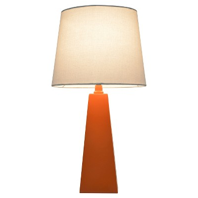 Tapered Table Lamp Orange (Includes CFL bulb) - Pillowfort™