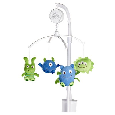Little Bedding by NoJo Monster Babies Mobile
