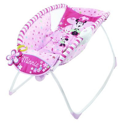 Disney® Baby Minnie Mouse Bows & Butterflies Sleeper Pink