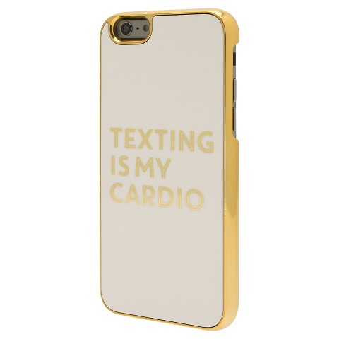 Texting is my Cardio iPhone cover