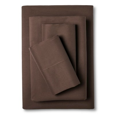 Eddie Bauer® Performance Microfiber Sheet Set -  Brown (King)