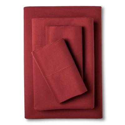 Eddie Bauer® Performance Microfiber Sheet Set -  Flag Red (King)