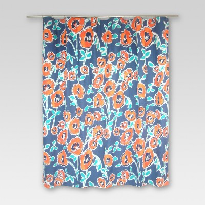 Threshold™ Shower Curtain - Windblown Floral