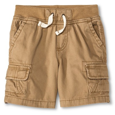 Toddler Boys' Cargo Short Sandstone 12M - Cherokee®