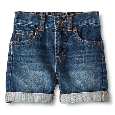 Baby Boys' Jean Short Blue 12M - Cherokee®
