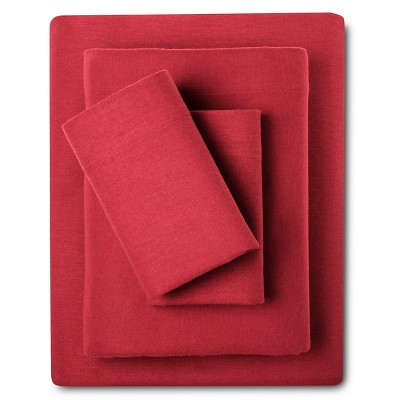 Eddie Bauer® Solid Flannel Sheet Set