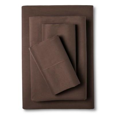 Eddie Bauer® Performance Microfiber Sheet Set -  Brown (Twin)