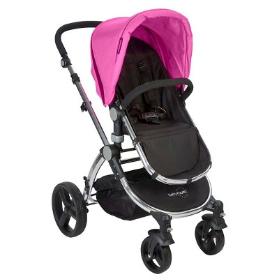Babyroues Le Tour Classic Stroller Fuschia/Frosted Silver