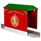 Lionel Christmas Hopper Shed