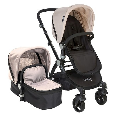 Babyroues Le tour II Bassinet & Stroller Black/Frosted Silver
