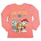 Paw Patrol Toddler Girls' Long Sleeve T-Shirt - Coral 5T