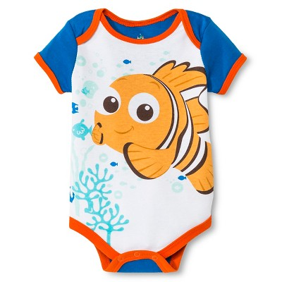 Child Bodysuits Disney NEMO DNU Blue 0-3 M