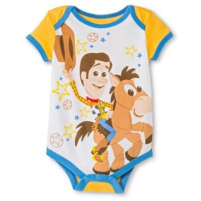 Disney Toy Story Newborn Bodysuit - 6-9M Yellow