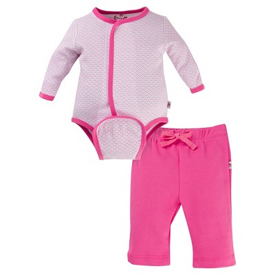 E=MC2 Girls' Magnetic Top and Bottom Sets - Pink 0-3M