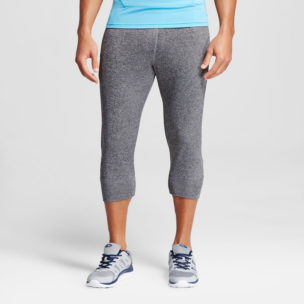 Men's 3/4 Jogger Pants Charcoal (Grey) Heather Gray S - C9 Champion, Size: Small