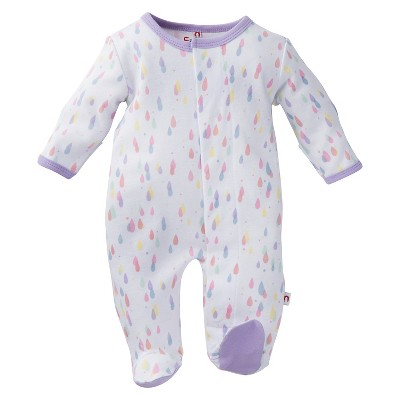Gender Neutral Footed Sleepers E=MC2 3-6 M Multi-colored