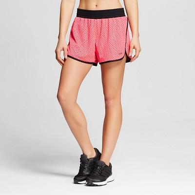 C9 Champion® Women's Mesh Training Shorts - Pink Bloom S