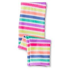 Toddler Girls' Striped Capri Legging Pant Multi-Colored - Circo™