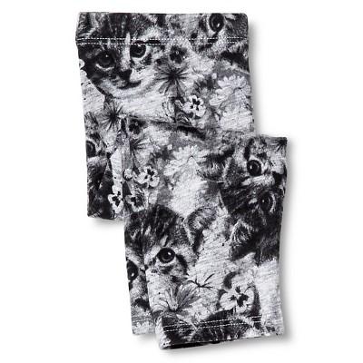 Baby Girls' Cat Capri Legging Pant Gray 12M - Circo™