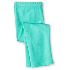 Toddler Girls' Capri Legging Pant Green - Circo™