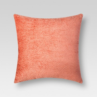Chenille Throw Pillow - Coral Oversize – Threshold™