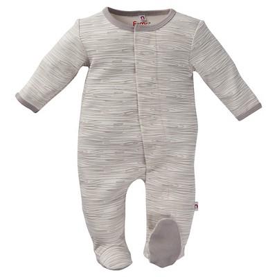 Footed Sleepers E=MC2 0-3 M Grey