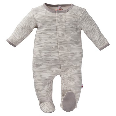 Magnetic Footed Sleepers E=MC2 3-6 M Grey