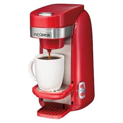 Hamilton Beach FlexBrew Single Serve Plus Coffee Maker - Red 49960