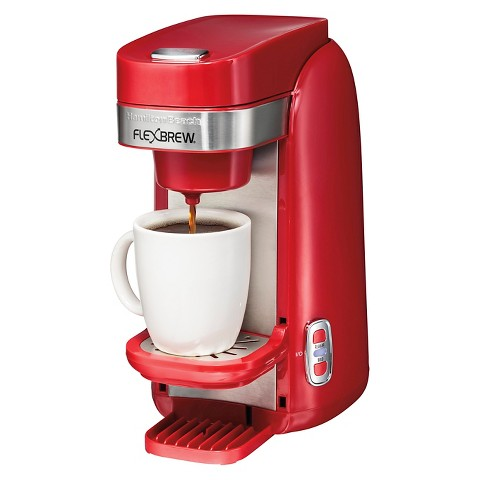 Red Coffee Maker At Target : Hamilton Beach FlexBrew Single-Serve Plus Coffee... : Target