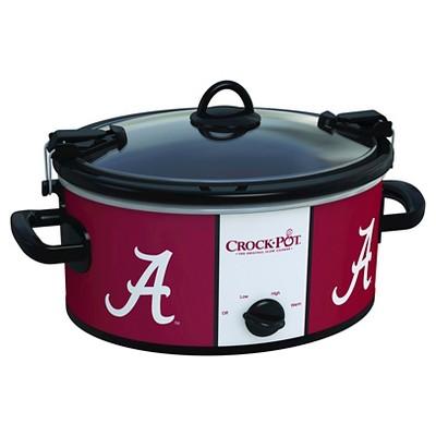 Alabama Crimson Tide NCAA Crock-Pot® Cook & Carry™ Slow Cooker, SCCPNCAA600-UAL