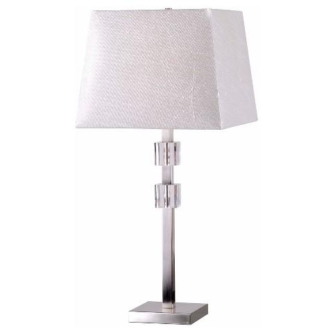 kenroy home table lamp stainless steel target. Black Bedroom Furniture Sets. Home Design Ideas