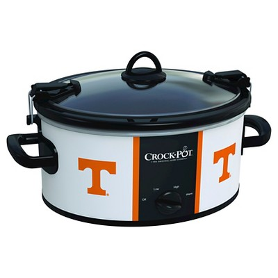 Tennessee Volunteers NCAA Crock-Pot® Cook & Carry™ Slow Cooker, SCCPNCAA600-UTN