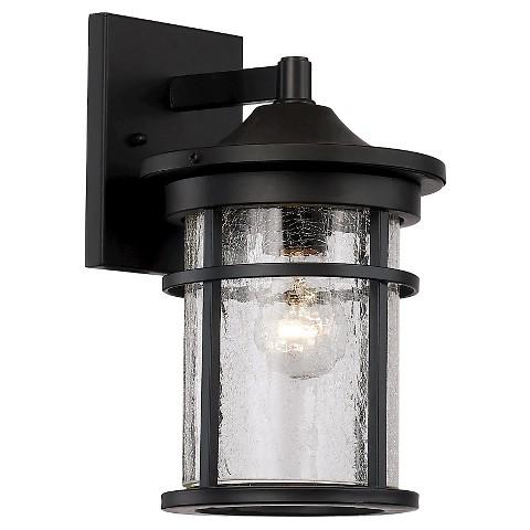 Bel Air Lighting Crackled Glass Outdoor Wall Light : Target