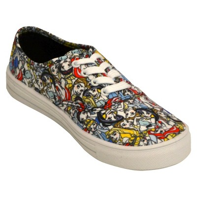 Women's Disney® New Princess Canvas Sneakers - 6