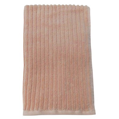 Room Essentials™ Texture Hand Towel - Peach Parfait