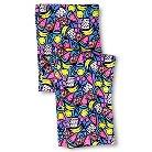 Toddler Girls' Fruit Capri Legging Pant Blue - Circo™