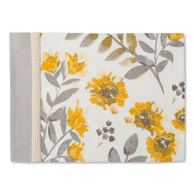 Floral Placemat - Yellow - Threshold™