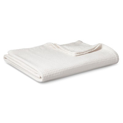 Chenille Blanket Cream (Full/Queen) - Threshold™