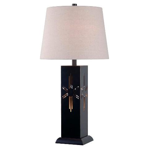 kenroy home table lamp bronze target. Black Bedroom Furniture Sets. Home Design Ideas