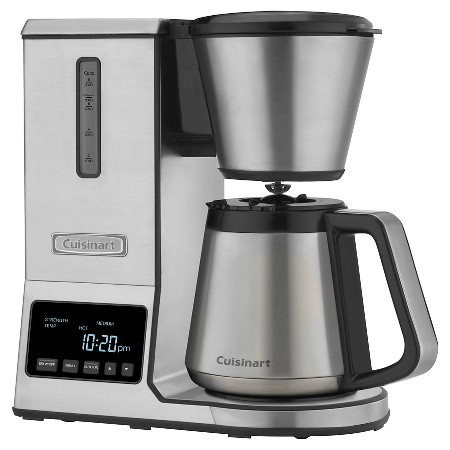 Cuisinart 8 Cup Pour Over Coffee Brewer Coffeemaker with Thermal Carafe CPO850 : Target