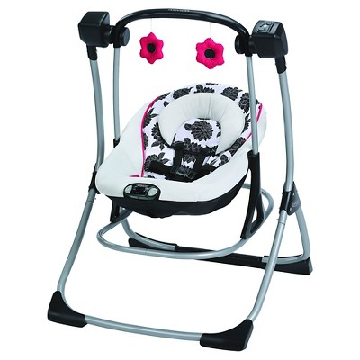 Graco Cozy Duet Swing - Azalea