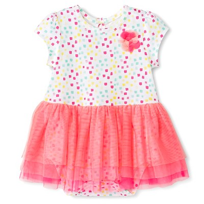 Cherokee® Baby Girls' Printed Tutu Dress - Multi Print NB