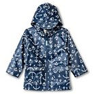 Toddler Boys' Anchor Print Raincoat with Hood Navy - Cherokee™