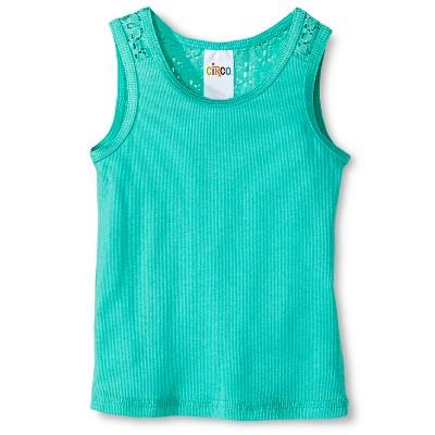 Baby Girls' Sleeveless Tank Top Green 18M - Circo™