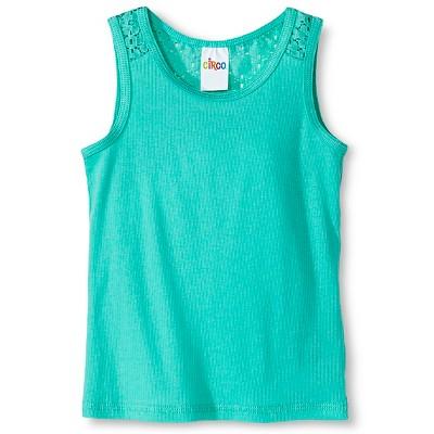 Toddler Girls' Sleeveless Tank Top Green 2T - Circo™