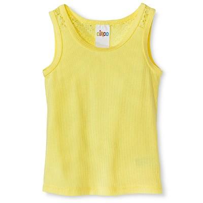 Baby Girls' Sleeveless Tank Top Yellow 12M - Circo™