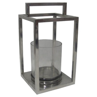 Decorative Container Threshold Light Silver Steel