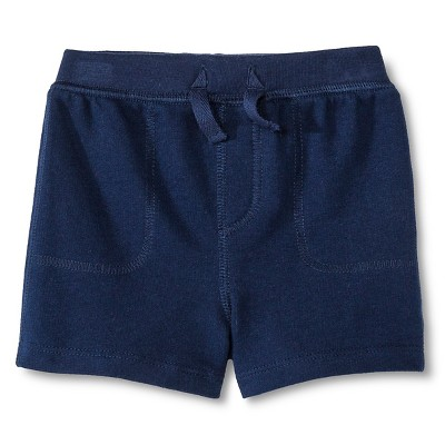 Newborn Boys' Knit Shorts - Blue 0-3M