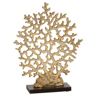 Cool and Appealing Aluminum Coral Decorative