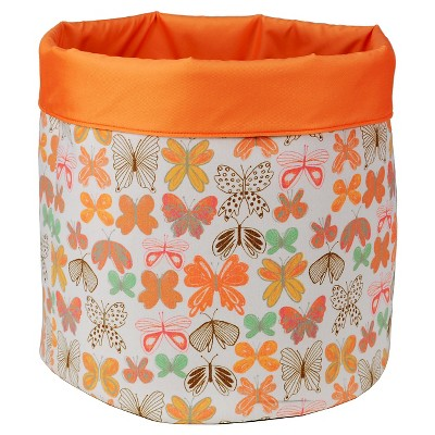 Reversible Canvas Floor Bin Round Butterfly - Pillowfort™